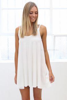 holly dress - ivory