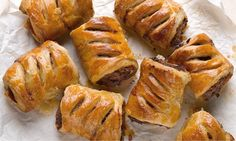 Yotam Ottolenghi's merguez sausage rolls recipe: 'I have yet to meet a carnivore who doesn't love a sausage roll.' Photograph: Colin Campbel...