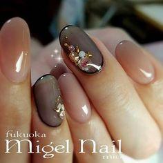 Nails 冬/クリスマス/オフィス/パーティー/ハンド - migel_nailのネイ. Gorgeous Nails, Love Nails, Pink Nails, How To Do Nails, Pretty Nails, My Nails, Japanese Nail Art, Pink Nail Designs, Classy Nails