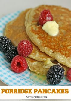 Easy recipe for healthy porridge pancakes a breakfast treat Scottish Dishes, Scottish Recipes, Irish Recipes, Second Breakfast, Best Breakfast, Super Easy Breakfast Recipe, Breakfast Dishes, Breakfast Recipes, Scotch Pancakes