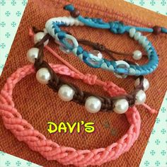 #macrame #pulseras #diy #handmade #bracelet
