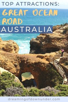What to see on the Great Ocean Road, Australia. Discover the best photography spots for your Great Ocean Road itinerary on a trip from Melbourne, Victoria. Outback Australia, Australia Travel, Melbourne Australia, Visit Australia, Victoria Attractions, Parks, Bay Of Islands, Celebrity Travel, Seaside Towns