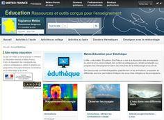 #Physique #Chimie #SVT #Maths #Anglais #Histoire #Géographie avec @meteofrance sur #Éduthèque #EcoleNumerique