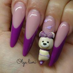 Nails extreme Shape bear