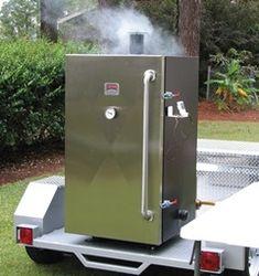 Gravity Feed Vertical Smoker- BQ SMOKERS
