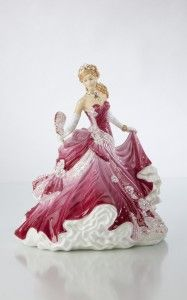 Our beautiful hand painted figurine, a perfect gift or romantic gesture.