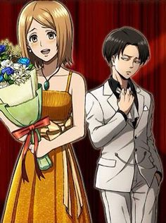 Levi and Petra. She's so adorable
