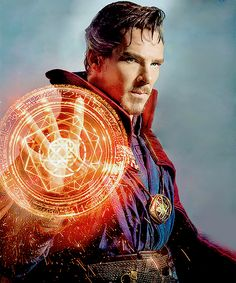 1st look of Benedict Cumberbatch as Dr. Strange Id, strangely, be completely okay with this. Or mostly okay with it.