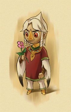 Prince Komali from The Legend of Zelda The Wind Waker!