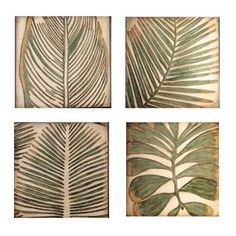 Graceful Palms Black Wooden Triptych Art | Triptych art, Triptych ...