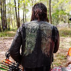 """""""A Day on Set With Norman Reedus 