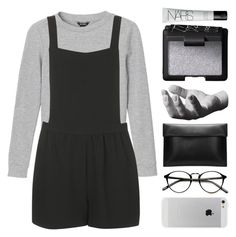 """castle on the hill // 200317"" by elliebonjelly ❤ liked on Polyvore featuring Monki, Topshop, NARS Cosmetics and Harry Allen"