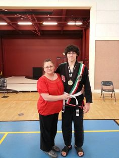 Me and My Mom (After I Won 1st Place)