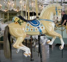 New York Times Coney Island Carousel