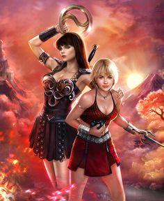 Xena Warrior Princess: Resurrection by K-Koji on DeviantArt