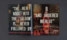Spread advertisements for Jim Beam, copy Derek Sherman