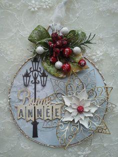 carte boule de Noël