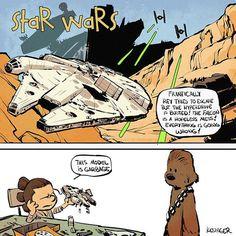 Personagens de Star Wars são reimaginados como Calvin e Haroldo | SuperVault