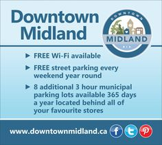 Just a friendly reminder!  #DowntownMidlandON