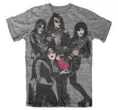 Bildresultat för kiss destroyer t shirt