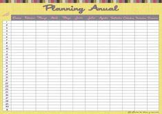 Descargables: Planning Anual