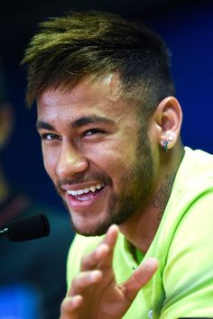 Neymar! One of the Best Looking Football Players.. That Wink!