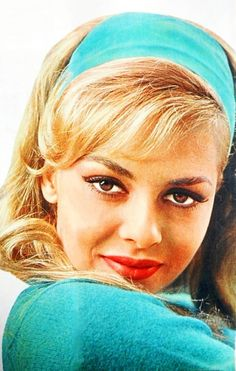 Michele  Mercier Classic Actresses, Beautiful Actresses, Hollywood Stars, Old Hollywood, Yvette Mimieux, Vintage Bangs, Michelle Mercier, Sara Montiel, Trans Gender