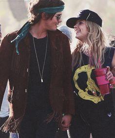 Tyler Blackburn & Ashley Benson | Coachella Valley...