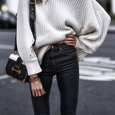 Oversized Meets Skinny FASHIONED|CHIC  https://rstyle.me/n/cvyh796sjw