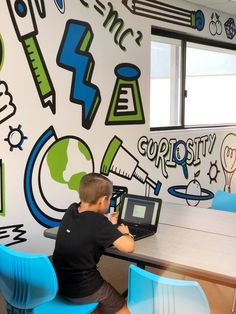 Learning Room at the Boys & Girls Club