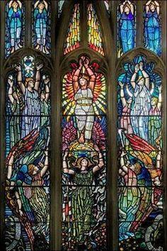 The Earle window 1896 in Hull Holy Trinity Church