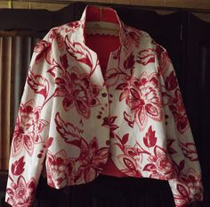 Sew A Reversible Jacket Princess Line, Best For Last, Sewing Blogs, Mccalls Patterns, Piece Of Clothing, Buttonholes, Hand Sewing, That Look, Kimono Top