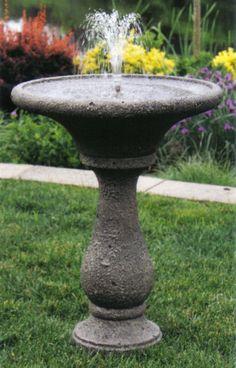 Chelsea Fleur De Lis Round Fountain