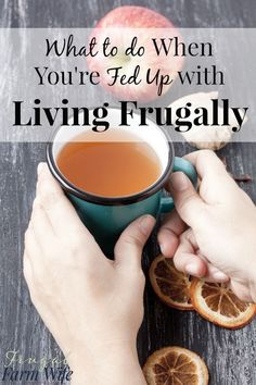 Let's face it: frugal living can be hard! So what to do when you're fed up with frugal living? Living On A Budget, Frugal Living Tips, Frugal Tips, Ways To Save Money, Money Saving Tips, How To Make Money, Saving Ideas, Money Tips, Mo Money