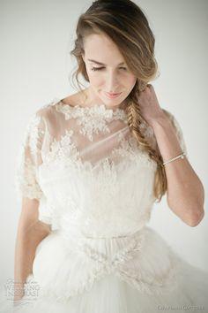 http://weddinginspirasi.com/2012/02/14/chaviano-couture-2012-wedding-dresses/  { chaviano couture 2012 natalie jacket }  #weddings #weddingdress #wedding #bridal