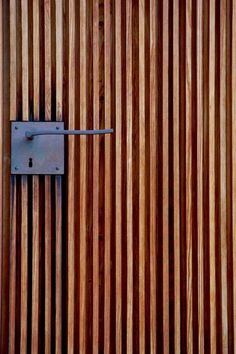 Peter Zumthor - Door handle detail at the St. Bendict Chapel, Sumvitg Via., Peter Zumthor - Door handle detail at the St. Bendict Chapel, Sumvitg Via. Detail Architecture, Interior Architecture, Interior And Exterior, Peter Zumthor Architecture, Building Architecture, Ancient Architecture, Sustainable Architecture, Interior Design, Landscape Architecture