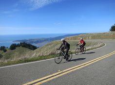 A long ride: road biking