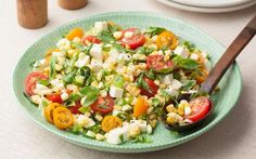 Fresh Corn and Tomato Salad Recipe by Food Network Kitchens