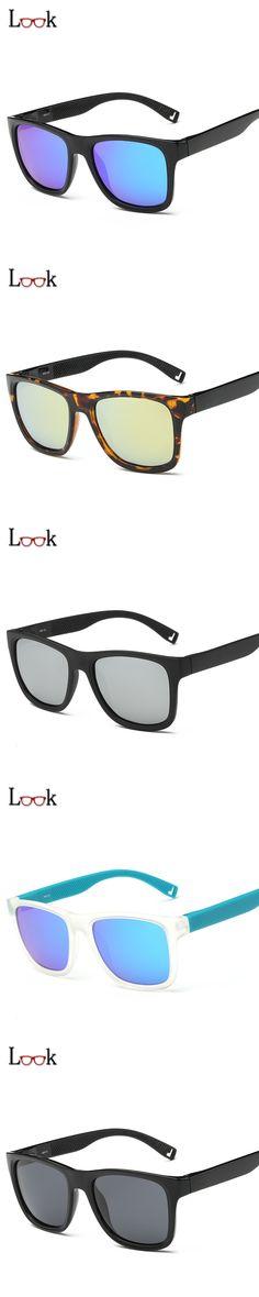 New TR90 Super Light Polarized Sunglasses Men Vintage Mirror Coating Sun Glasses Women Brand Unisex Sunglass Sport Gafas De Sol