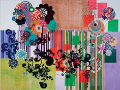 beatriz milhazes is one of my favorite artists.