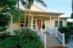 Captiva Florida Luxury Rental Beach House, private luxury beach front rental in Captiva Island, FL Beach Cottage Style, Beach Cottage Decor, Coastal Cottage, Coastal Homes, Cottage Ideas, Cottage Living, Coastal Living, Style At Home, Porches