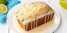 Pack the zesty flavor of key lime pie into this sweet loaf.Preheat oven to 350 degrees F.• Make the cake: In a large mixing bowl, combine butter and cream cheese until light and fluffy. Mix in sugar, …