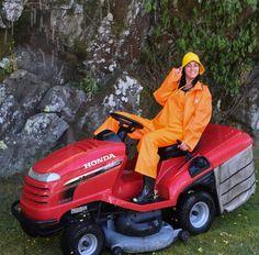 Latex, Rain Wear, Overalls, Rain Jacket, Raincoat, Photos, Yellow, Orange, How To Wear