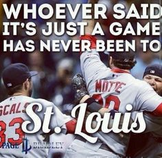 Oh so true!  Cardinals Nation! #StLouis