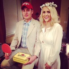 Couple's Halloween Costume: Forrest Gump and Jenny!