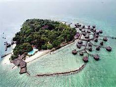 Eksotisme Pulau Bidadari di Teluk Jakarta