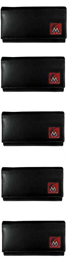 Miami Marlins Leather Women's Wallet! Click The Image To Buy It Now or Tag Someone You Want To Buy This For. #MiamiMarlins