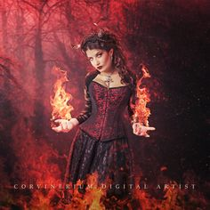 Fire Magic by Corvinerium.deviantart.com on @DeviantArt
