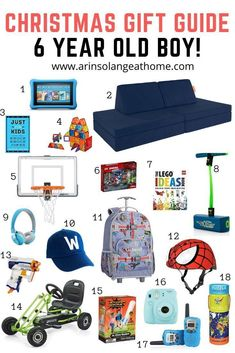Are you ready to do your Christmas shopping, or other holiday or birthday shopping for a 6 year old boy, or boy in elementary school? Check out this post with the best 6 year old boy gifts this year and streamline your shopping! Christmas Gifts For Boys, Birthday Gifts For Boys, Christmas Shopping, Christmas 2019, Christmas Ideas, Birthday Ideas, Birthday Fun, Christmas Stuff, Birthday Cake