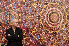 Damien Hirst is the artist the art world currently loves to hate.  Is he is visionary artist or a charlatan who capitalizes on the inflated egos of the art world?